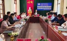 Hội nông dân tỉnh đánh giá công tác hội và phong trào nông dân các huyện cụm đường 48