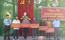 """Nghĩa Lộc tổ chức điểm ngày hội """"Đại Đoàn Kết Toàn Dân Tộc"""""""