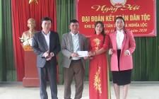 Xóm Tân Lập xã Nghĩa Lộc tổ chức ngày hội đại đoàn kết toàn dân tộc năm 2020