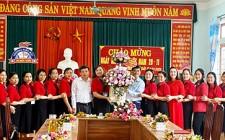 Đồng chí Lê Thái Hùng chúc mừng ngày nhà giáo Việt Nam 20/11