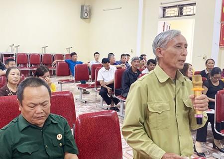 Đại biểu HĐND tỉnh tiếp xúc cử tri trước kỳ họp thứ 17 tại xã Nghĩa Yên