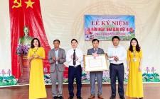 Trường THCS Hưng Thịnh đón nhận danh hiệu trường đạt chuẩn quốc gia Mức độ 1 ( lần 2)  giai đoạn 2020 - 2025