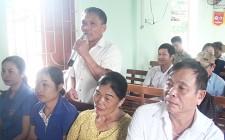 Đại biểu HĐND huyện tiếp xúc cử tri xã Nghĩa Phú