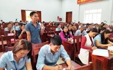 Đại biểu HĐND tỉnh tiếp xúc cử tri tại Nghĩa Đàn