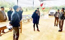 Thẩm định kết quả thực hiện xây dựng NTM năm 2020 tại xóm Màn Thịnh xã Nghĩa Thọ
