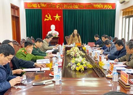 Ban Thường vụ Huyện ủy Nghĩa Đàn tổ chức hội nghị kiểm điểm tập thể, cá nhân năm 2020