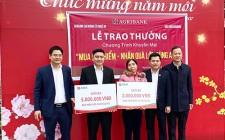 Công ty Bảo hiểm Agribank trao giải cho khách hàng trúng thưởng chương trình khuyến mãi