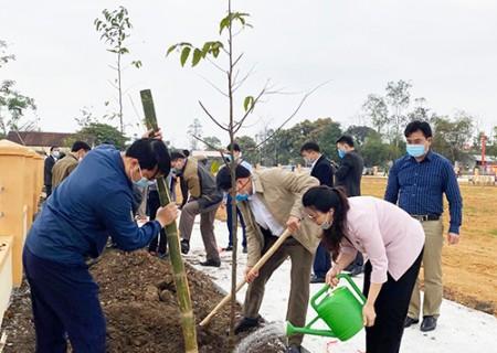 """Phát động """"Tết trồng cây đời đời nhớ ơn Bác Hồ"""" mừng xuân Tân Sửu 2021"""