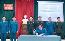 Khai mạc huấn luyện chiến sỹ Dân quân năm thứ nhất 2021 cụm số 2