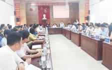 Phiên làm việc về hướng phát triển kinh tế nông nghiệp bền vững tại huyện Nghĩa Đàn