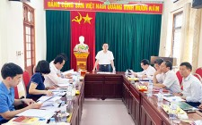 Kiểm tra, giám sát công tác bầu cử tại huyện Nghĩa Đàn