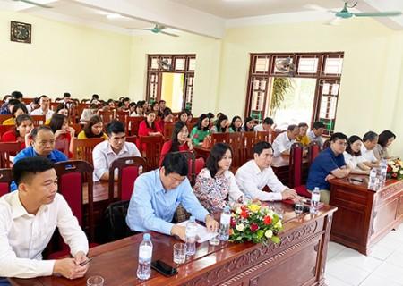 Khai giảng lớp trung cấp lý luận Chính trị - Hành chính hệ không tập trung K16 ( khóa 2021 – 2022 )