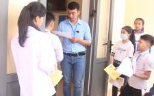 Gần 1.000 lượt học sinh tham gia kỳ thi Olympic cấp huyện