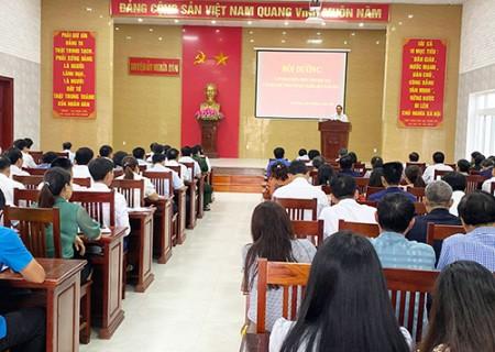 Bồi dưỡng cập nhật kiến thức cho đội ngũ cán bộ chủ chốt huyện Nghĩa Đàn năm 2021