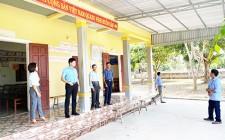 UBND huyện làm việc với xã Nghĩa Thịnh về tiến độ đạt chuẩn NTM năm 2021