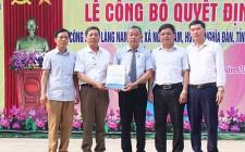 Làng Nam Lâm, xã Nghĩa Lâm tổ chức đón quyết định công nhận làng NTM
