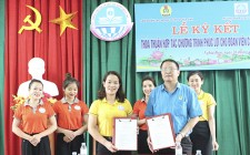 LĐLĐ ký kết thỏa thuận hợp tác chương trình phúc lợi cho đoàn viên