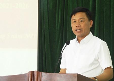 Chương trình hành động của ông Hoàng Phú Hiền, ứng cử viên Đại biểu HĐND tỉnh Nghệ An khóa XVIII