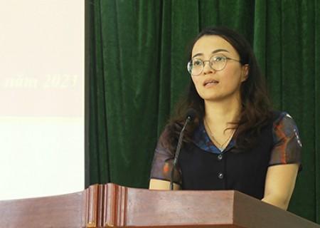 Chương trình hành động của bà Hoàng Thị Thu Trang, ứng cử viên Đại biểu HĐND tỉnh Nghệ An khóa XVIII