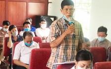Đại biểu HĐND tỉnh tiếp xúc cử tri tại xã Nghĩa Mai