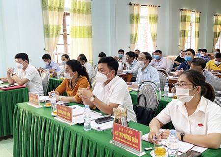 Đại biểu HĐND tỉnh khóa XVIII tiếp xúc cử tri xã Nghĩa Lạc, huyện Nghĩa Đàn