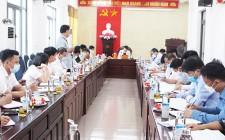 Phiên họp BTV Huyện ủy Nghĩa Đàn