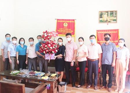 Chúc mừng ngày thành lập Công đoàn Việt Nam