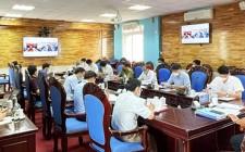 UBND huyện Nghĩa Đàn làm việc với xã Nghĩa Lâm về tiến độ thực hiện các tiêu chí xây dựng NTM xã Nghĩa Lâm năm 2021