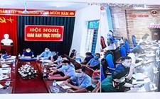 UBND huyện Nghĩa Đàn làm việc với xã Nghĩa Yên về tiến độ thực hiện các tiêu chí xây dựng NTM năm 2021