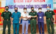 Đảng ủy, Ban CHQS huyện Nghĩa Đàn thăm, tặng quà động viên lực lượng Dân quân tham gia phòng, chống dịch bệnh Covid-19 trên địa bàn huyện