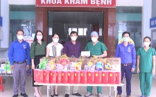 UBND huyện tặng quà trung thu cho thiếu niên nhi đồng