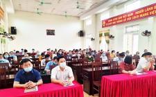 Đảng bộ xã Nghĩa Thành tổ chức hội nghị học tập Nghị quyết Đại hội  đại biểu toàn quốc lần thứ XIII của Đảng