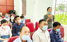 Đại biểu Quốc hội tiếp xúc cử tri xã Nghĩa Mai, huyện Nghĩa Đàn