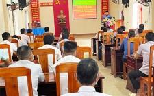 Khai giảng lớp nuôi và phòng trị bệnh cho trâu, bò tại xã Nghĩa Minh