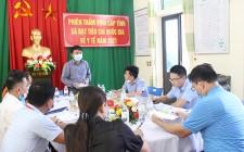 Sở Y tế Nghệ An thẩm định xã đạt Bộ tiêu chí Quốc gia về y tế tại Nghĩa Đàn