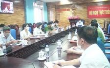 Huyện ủy Nghĩa Đàn tham gia hội nghị báo cáo viên trực tuyến