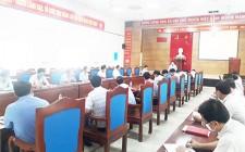 Ban đại diện hội đồng quản trị ngân hàng CSXH huyện Nghĩa Đàn tổ chức hội nghị sơ kết hoạt động quí 3