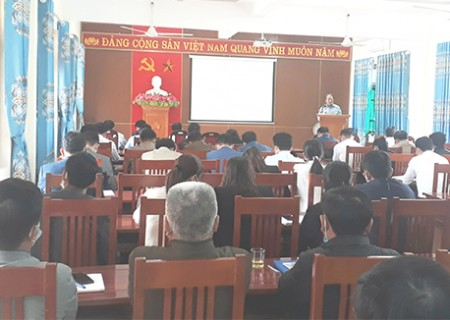 Hội nghị Báo cáo viên định kỳ tháng 10/2021