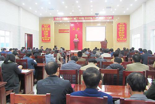 Nghĩa Đàn triển khai Nghị quyết Đại hội Đảng bộ tỉnh lần thứ XIX