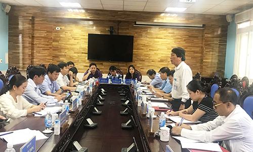 Đoàn công tác sở KH&CN tỉnh làm việc với UBND huyện Nghĩa Đàn